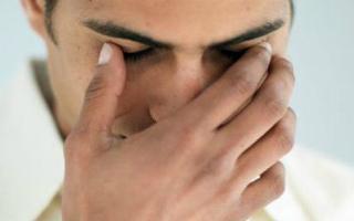 Давящая боль в глазах