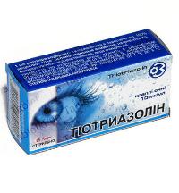 Капли для глаз тиотриазолин инструкция по применению