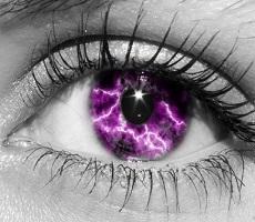 Молнии в глазах