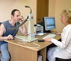 Измерение полей зрения (периметрия)