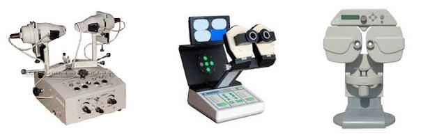 Приборы для улучшения зрения и лечения глаз